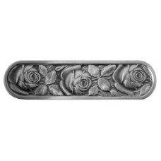 "McKenna's Rose Drawer Pull (3"" cc) - Antique Pewter (NHP-680-AP) by Notting Hill"