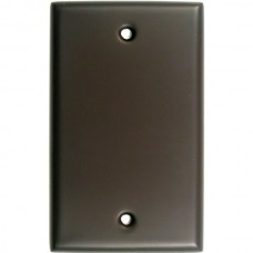 Traditional Single Blank Switch Plate (780ORB) Oil Rubbed Bronze by Rusticware