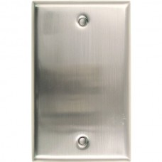Traditional Single Blank Switch Plate (780SN) Satin Nickel by Rusticware
