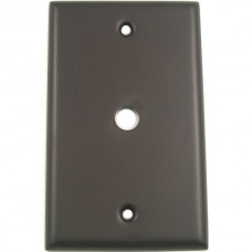 Traditional Single Cable Switch Plate (781ORB) Oil Rubbed Bronze by Rusticware
