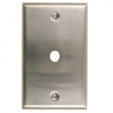 Traditional Single Cable Switch Plate (781SN) Satin Nickel by Rusticware