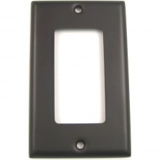 Traditional Single Decora Switch Plate (784ORB) Oil Rubbed Bronze by Rusticware