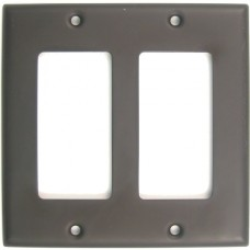 Traditional Double Decora Switch Plate (787ORB) Oil Rubbed Bronze by Rusticware