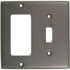 Traditional Double Decora/Toggle Switch Plate (788ORB) Oil Rubbed Bronze by Rusticware