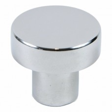 "Modern 1-1/8"" Modern Round Knob (937CH) Chrome by Rusticware"
