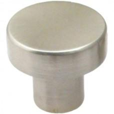 """Modern 1-1/8"""" Modern Round Knob (937SN) Satin Nickel by Rusticware"""
