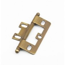 Hinges Hinge Non-Mortise (1100B-AB) in Antique Brass of the Schaub & Company Signature Series