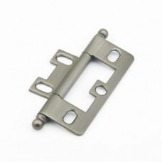 Hinges Hinge Non-Mortise (1100B-AN) in Antique Nickel of the Schaub & Company Signature Series