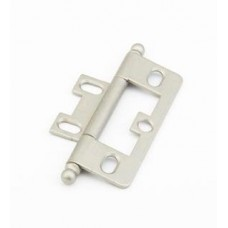 Hinges Hinge Non-Mortise (1100B-DN) in Distressed Nickel of the Schaub & Company Signature Series
