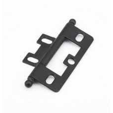 Hinges Hinge Non-Mortise (1100B-FB) in Flat Black of the Schaub & Company Signature Series