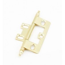 Hinges Hinge Non-Mortise (1100M-03) in Polished Brass of the Schaub & Company Signature Series