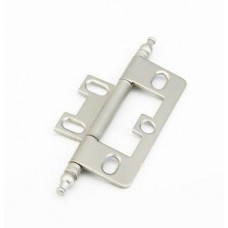 Hinges Hinge Non-Mortise (1100M-15) in Satin Nickel of the Schaub & Company Signature Series