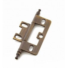 Hinges Hinge Non-Mortise (1100M-AB) in Antique Brass of the Schaub & Company Signature Series