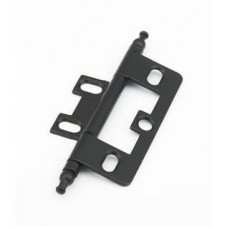 Hinges Hinge Non-Mortise (1100M-FB) in Flat Black  of the Schaub & Company Signature Series