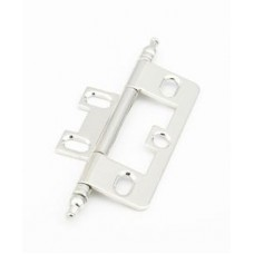 Hinges Hinge Non-Mortise (1100M-PN) in Polished Nickel of the Schaub & Company Signature Series
