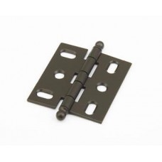 Hinges Hinge Mortise (1111B-10B) in Oil Rubbed Bronze of the Schaub & Company Signature Series