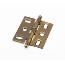 Hinges Hinge Mortise (1111B-AB) in Antique Brass of the Schaub & Company Signature Series