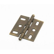 Hinges Hinge Mortise (1111B-ALB) in Antique Light Brass of the Schaub & Company Signature Series