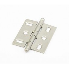 Hinges Hinge Mortise (1111B-DN) in Distressed Nickel of the Schaub & Company Signature Series