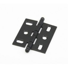 Hinges Hinge Mortise (1111B-FB) in Flat Black of the Schaub & Company Signature Series