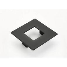 Finestrino Drawer Pull (443-MB) in Matte Black of the Schaub & Company Signature Series