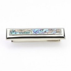 Imperial Shell Drawer Pull (819-IM/PN) in Polished Nickel of the Schaub & Company Symphony Series