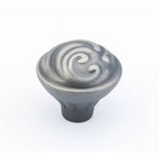 Arcadia Cabinet Knob (830-AN) in Antique Nickel of the Schaub & Company Signature Series