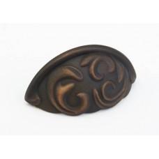 Arcadia Bin Pull (834-ABZ) in Ancient Bronze of the Schaub & Company Signature Series