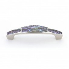Imperial Shell Drawer Pull (992-4-IM/PN) in Polished Nickel of the Schaub & Company Symphony Series