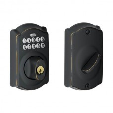 Camelot Keypad Deadbolt Lock Set - BE Series (BE365CAM) by Schlage