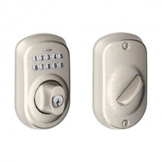 Plymouth Keypad Deadbolt Lock Set - BE Series (BE365PLY) by Schlage