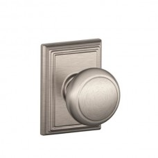 Andover Door Knob Set w/ Addison Rosette - F Series (AND) by Schlage