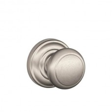Andover Door Knob Set w/ Andover Rosette - F Series (AND) by Schlage