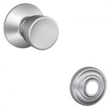 Bell Door Knob Set w/ Andover Rosette - F Series (BEL) by Schlage