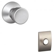 Bell Door Knob Set w/ Century Rosette - F Series (BEL) by Schlage