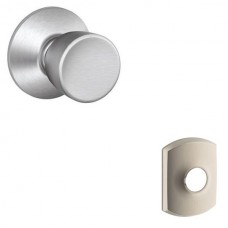 Bell Door Knob Set w/ Greenwich Rosette - F Series (BEL) by Schlage
