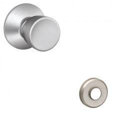 Bell Door Knob Set w/ Greyson Rosette - F Series (BEL) by Schlage