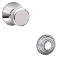 Bowery Door Knob Set w/ Andover Rosette - F Series (BWE) by Schlage