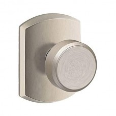 Bowery Door Knob Set w/ Greenwich Rosette - F Series (BWE) by Schlage