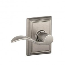 Accent Door Lever Set w/ Addison Rosette - F Series (ACC) by Schlage