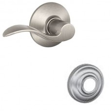 Accent Door Lever Set w/ Andover Rosette - F Series (ACC) by Schlage