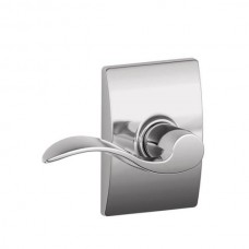 Accent Door Lever Set w/ Century Rosette - F Series (ACC) by Schlage