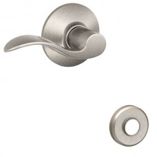 Accent Door Lever Set w/ Greyson Rosette - F Series (ACC) by Schlage