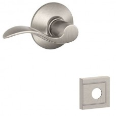 Accent Door Lever Set w/ Upland Rosette - F Series (ACC) by Schlage