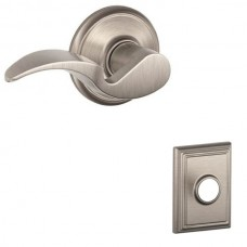 Avanti Door Lever Set w/ Addison Rosette - F Series (AVA) by Schlage