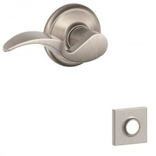 Avanti Door Lever Set w/ Collins Rosette - F Series (AVA) by Schlage