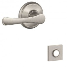 Avila Door Lever Set w/ Collins Rosette - F Series (VLA) by Schlage