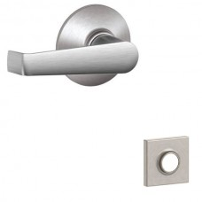 Elan Door Lever Set w/ Collins Rosette - F Series (ELA) by Schlage