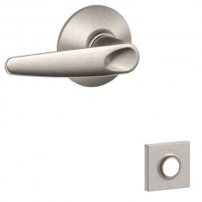 Jazz Door Lever Set w/ Collins Rosette - F Series (JAZ) by Schlage