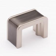 "Fusion Gunmetal/Satin Nickel 1-3/4"" Metal Cabinet Knob (K-2000-G) by Sietto"